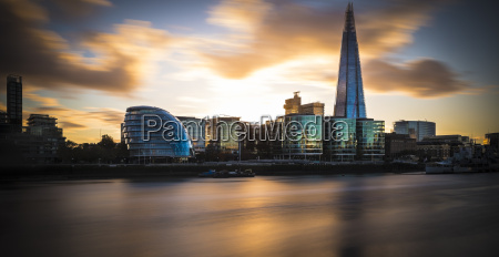 uk london river thames with city