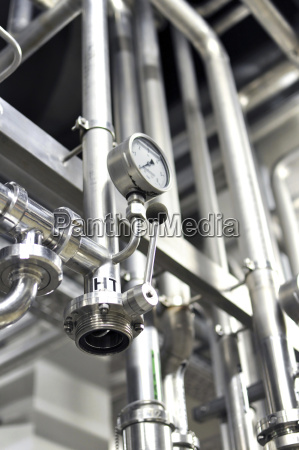 germany pipeworks in brewery