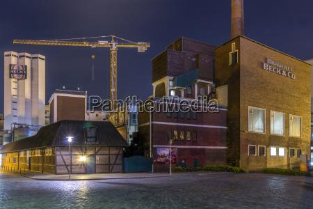 germany bremen becks brewery complex