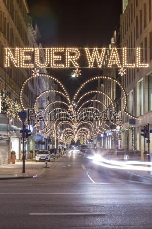 deutschland hamburg exklusive einkaufsstrasse neuer mauer