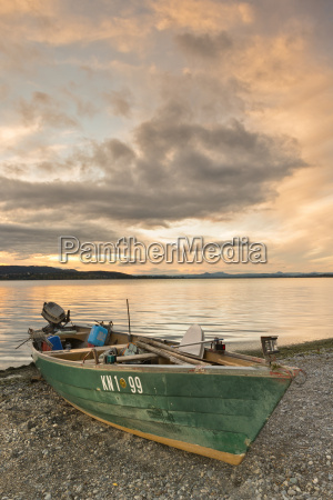 germany view of fishing boat at