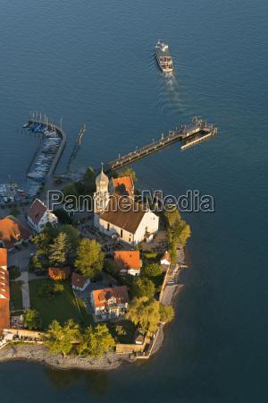 germany bavaria lake constance wasserburg peninsula