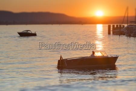 germany baden wurttenberg lake constance boat