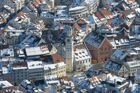 germany baden wuerttemberg ravensburg cityscape in