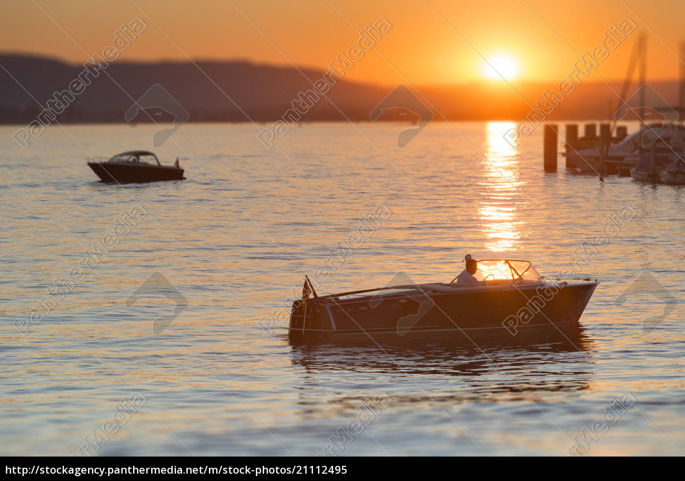 germany, , baden-wurttenberg, , lake, constance, , boat, at - 21112495
