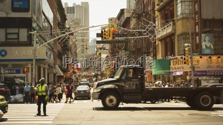 usa new york city street life