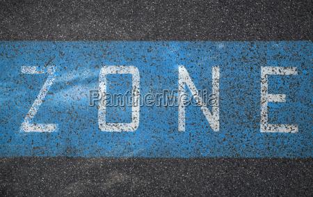 germany bavaria munich road marking of