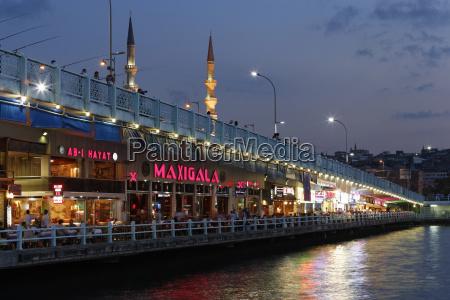 europe turkey istanbul restaurants on galata