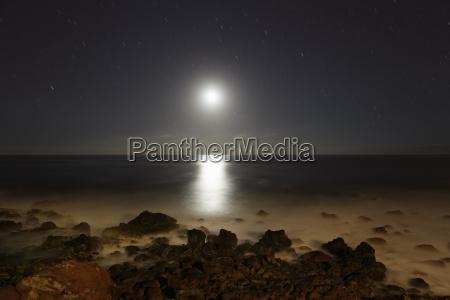 spain la gomera view from beach