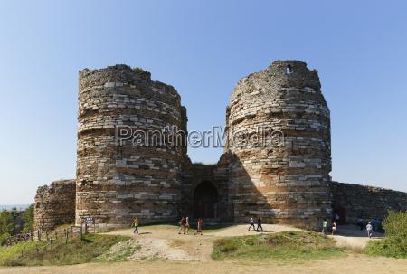 turkey istanbul yoros castle in anadolu