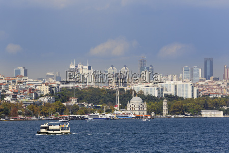 turkey istanbul view of dolmabache mosque
