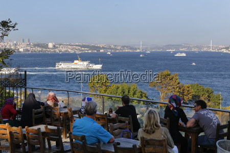 turkey istanbul people sitting in tea