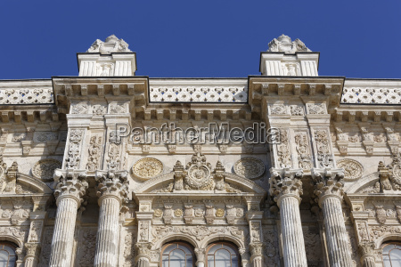 turkey istanbul view of dolmabahce
