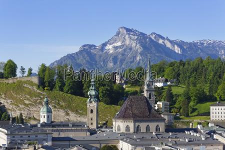austria salzburg view of st peters