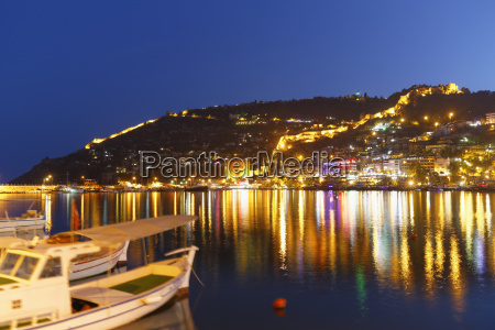 turkey view of castle hill at
