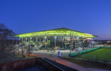 deutschland wolfsburg volkswagen arena fussballstadion