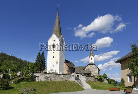 austria carinthia view of palatine church