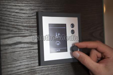 handverstellender thermostat zu hause