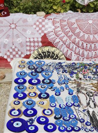 tuerkei antalya variete auge geformte amulette