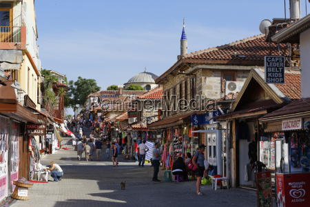 turkey side shops in the old