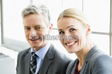 germany portrait of businesspeople in office