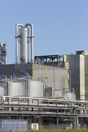 deutschland aussen der chemieanlage