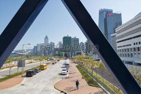 china hong kong view from bridge