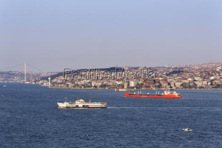 turkey istanbul view to uskudar with