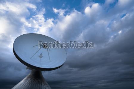 germany bavaria pfaffenwinkel raisting satellite earth