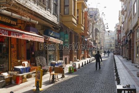 turkey istanbul kadikoey alley in the