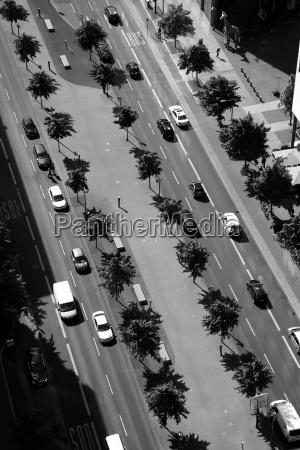 germany berlin traffic at potsdamer