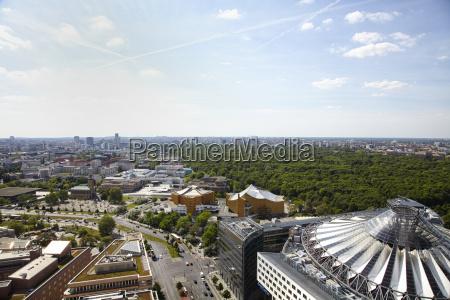 germany berlin view from potsdamer platz