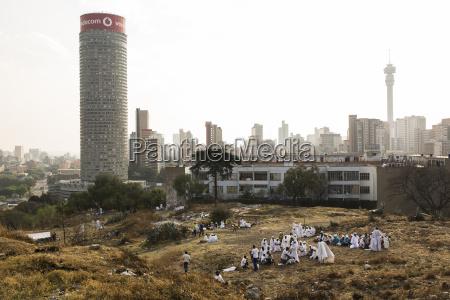 suedafrika johannesburg hilbrow mit ponte tower
