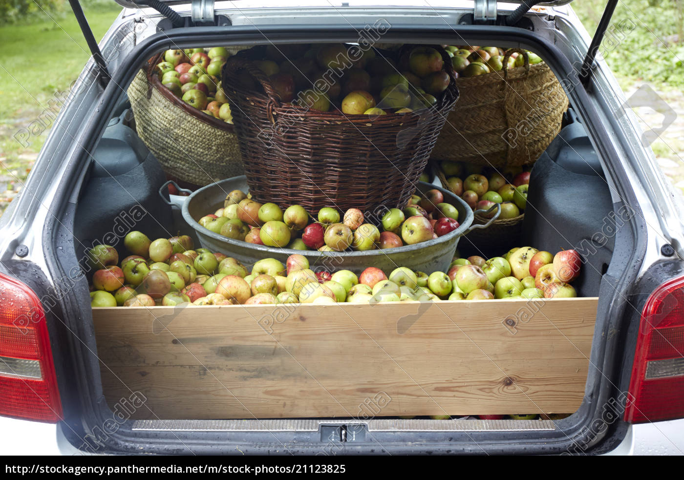 germany, , schleswig-holstein, , car, boot, full, of - 21123825