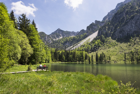 germany bavaria chiemgau alps inzell frillensee
