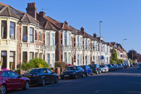 england hampshire portsmouth rows of houses