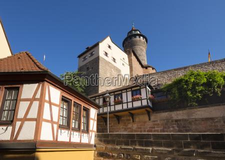 germany bavaria middle franconia nuremberg castle