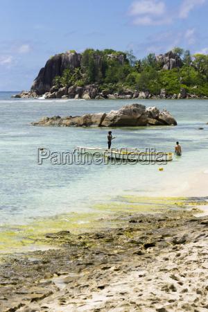 seychelles mahe lislette boats and two