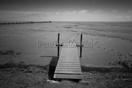 germany lower saxony eastern friesland jetty