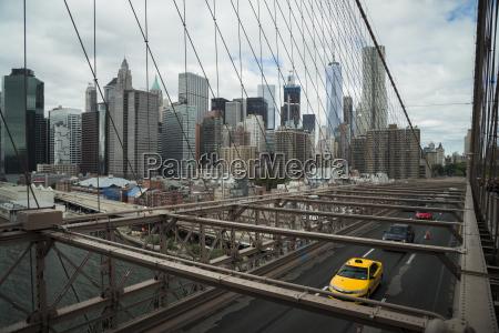 usa new york city cars on