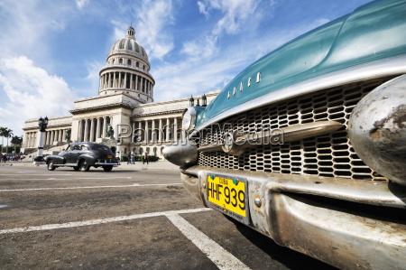 kuba havanna blick auf das capitol