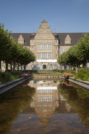 germany north rhine westphalia oberhausen courthouse