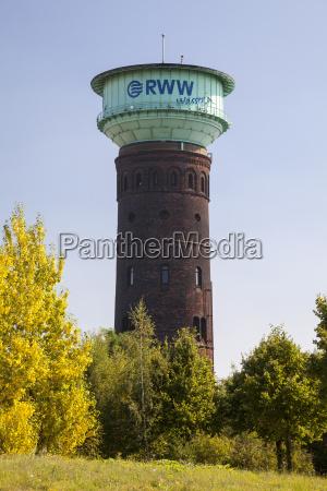 germany north rhine westphalia oberhausen water