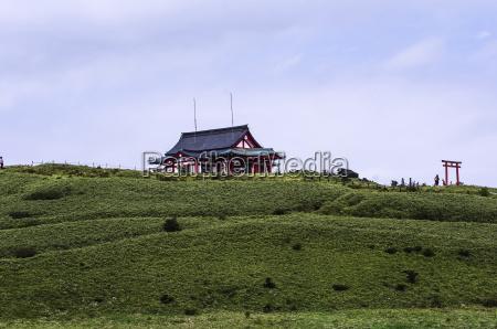 japan hakone mount komagatake shrine