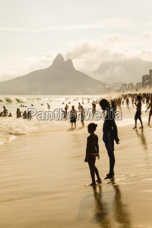 brazil rio de janeiro ipanema beach