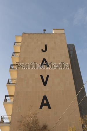 spain palma de mallorca facade of