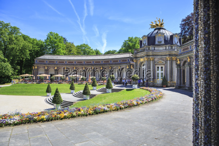 germany bavaria bayreuth eremitage sun temple