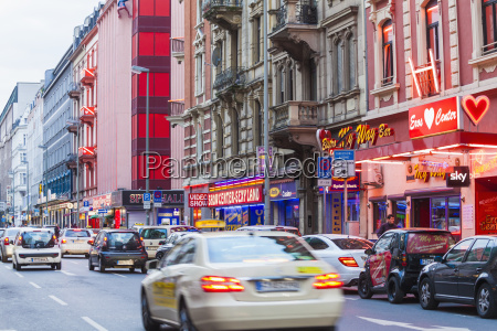 germany hesse frankfurt red light district