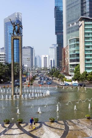 indonesia jakarta selaman datang monument square