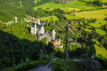 germany bavaria allgaeu schangau view to